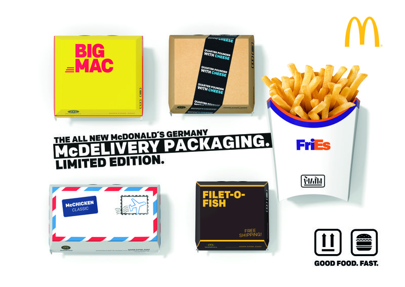 """McDonald's """"McDelivery Packaging"""""""