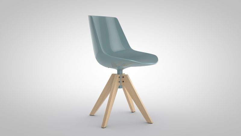 Flow Chair by MDF Italia