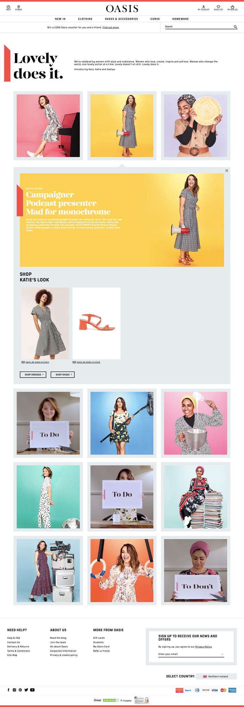 Brand Refresh – Oasis Fashion