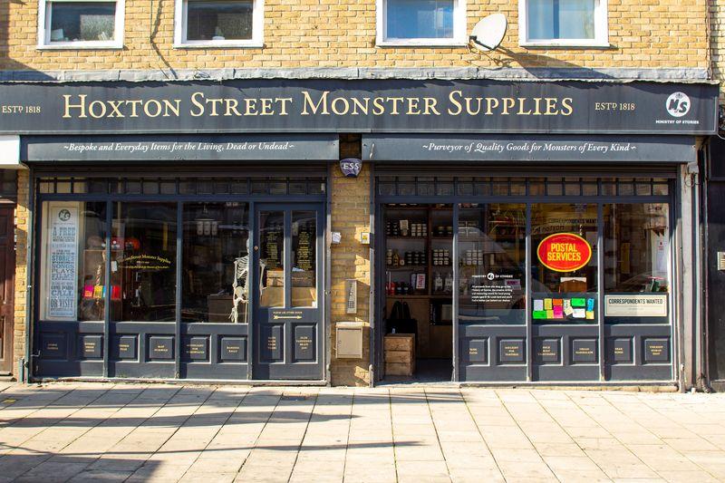 Hoxton Street Monster Supplies Postal Service