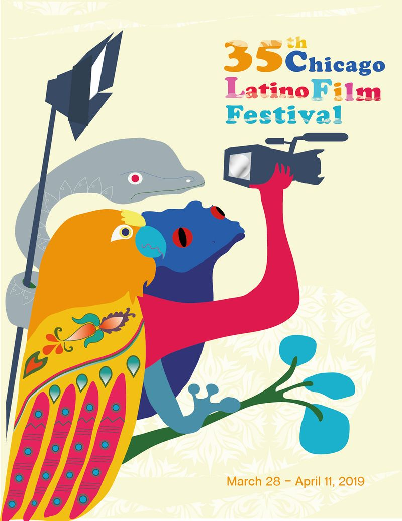 My participation for the poster contest for the Chicago Latino Film Festival