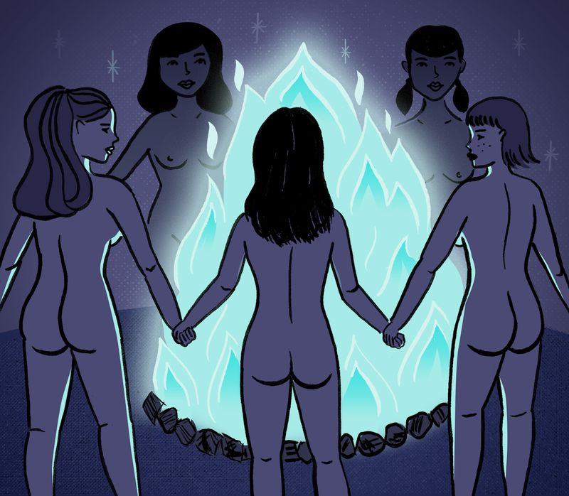 The Skinny - Coven Editorial Illustration