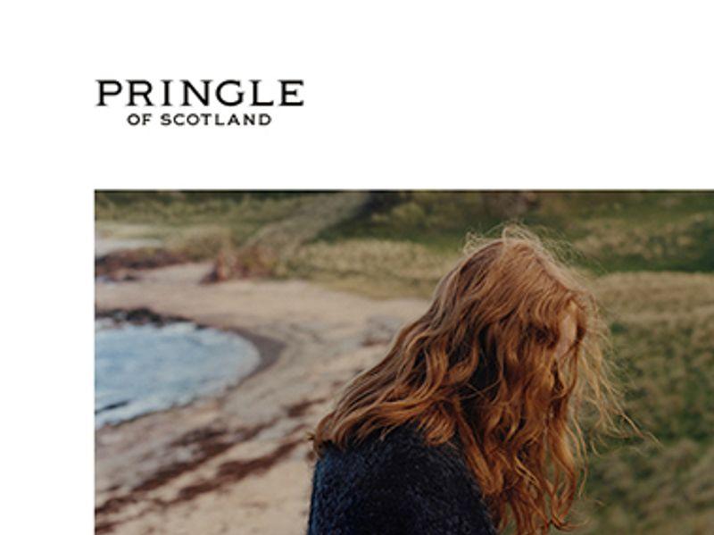 Pringle of Scotland - Freelance digital design