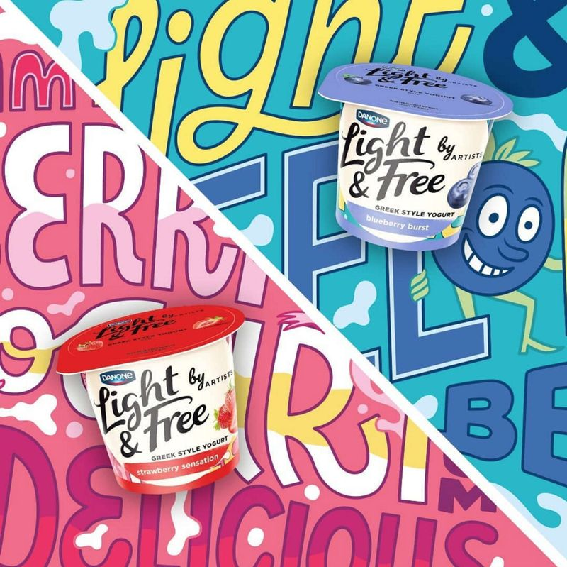 Danone Light and Free by Artists