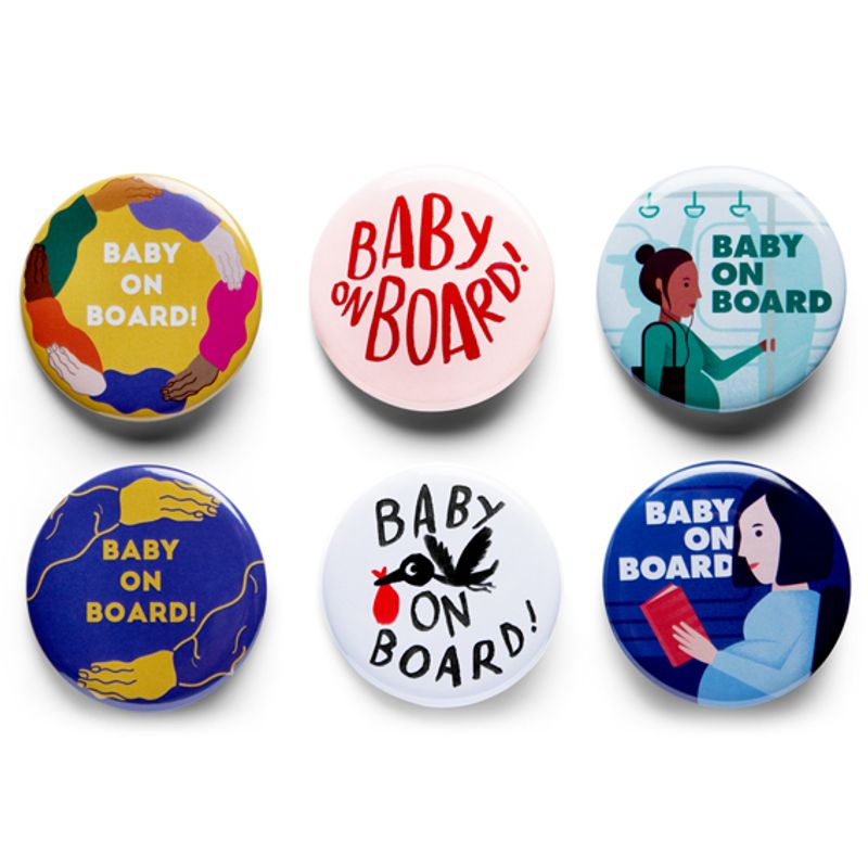 Baby on Board! | Hoop | Erin Aniker Illustration