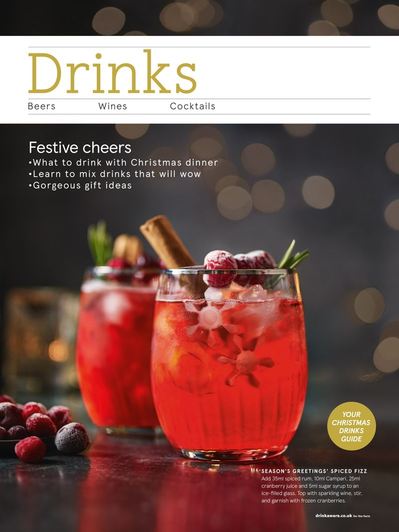 Tesco Christmas drinks content