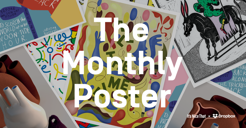 It's Nice That x Dropbox: Monthly Poster Commission