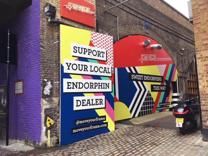 Shoreditch Outdoor Campaign 2019
