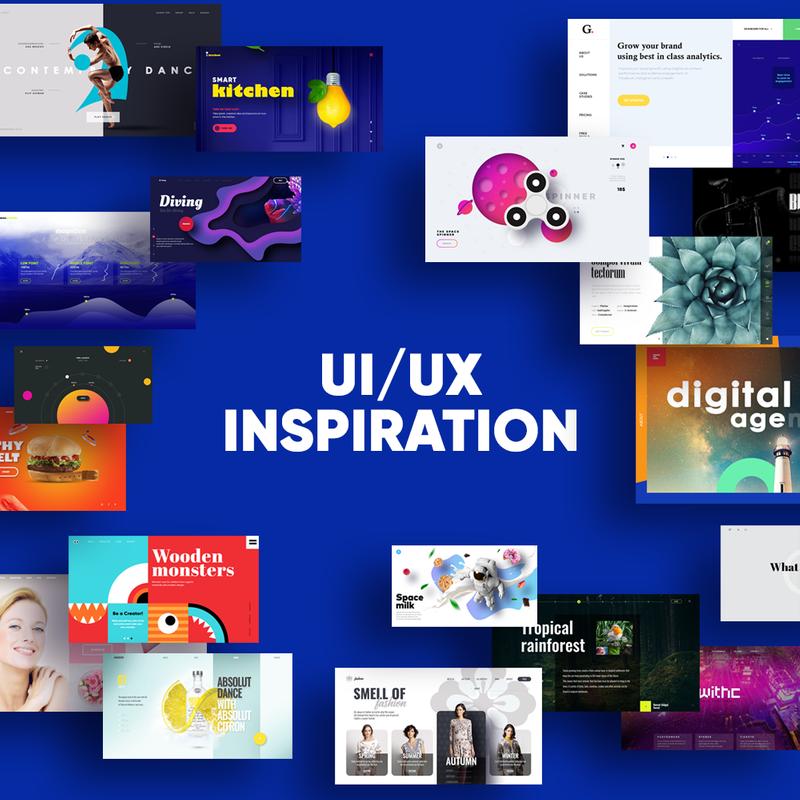 UI/UX inspiration