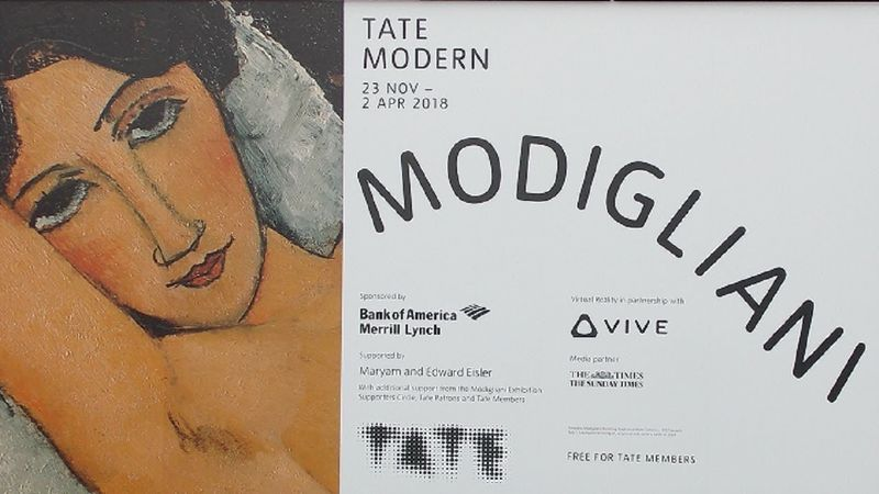 Tate - Modigliani Trailer