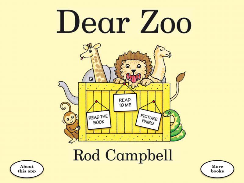 Dear Zoo for iPad