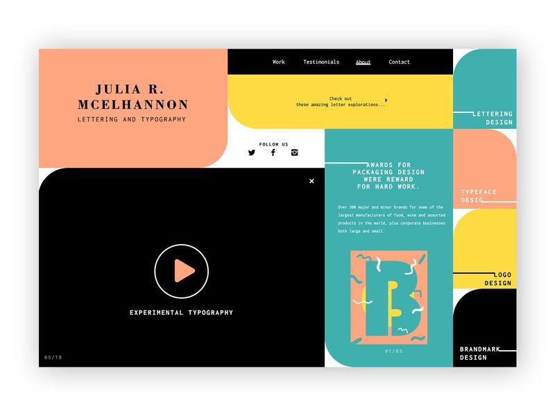 Typographer ➥ Web Design
