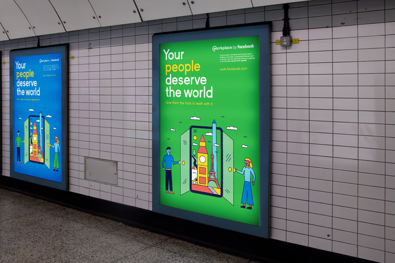 D&AD: Workplace by Facebook – Your People Deserve the World