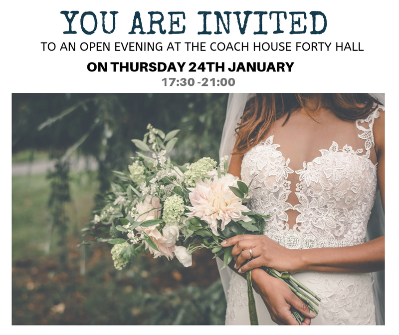 Wedding Open Evening Invitation