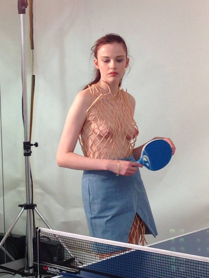 Caitlin Price, This Is The Uniform & Richard Malone S/S16 at Fashion East, London