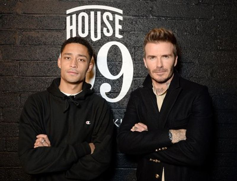 HOUSE 99 BRAND LAUNCH X DAVID BECKHAM X LOYLE CARNER