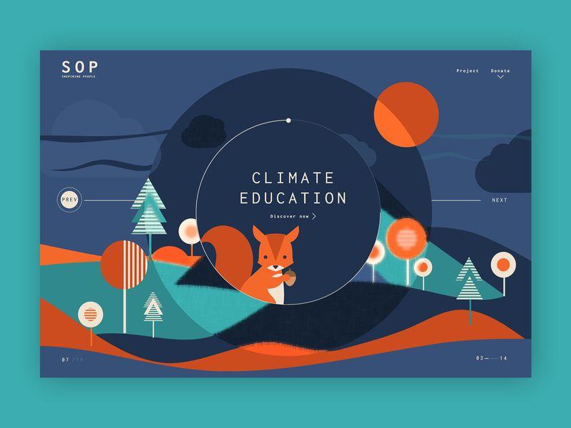 Saving Our Planet ➥ Web Design