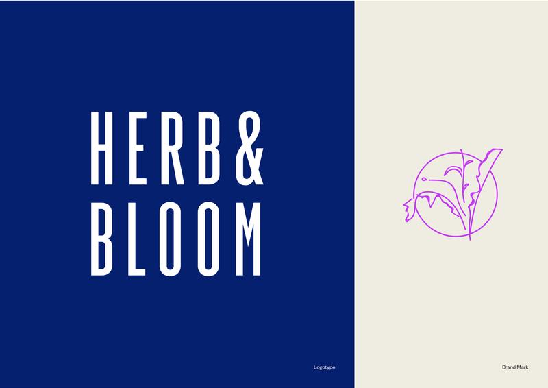Herb & Bloom - Brand Identity + Packaging Design