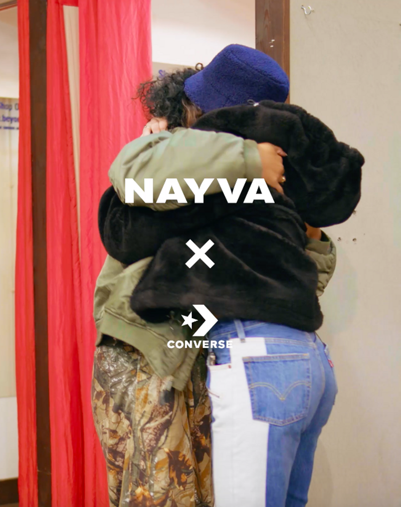CONVERSE X NAYVA INTERVIEW #SPARKPROGRESS
