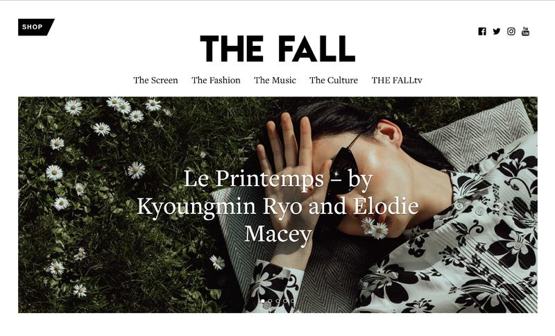 The Fall magazine editorial