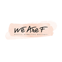We Are F logo