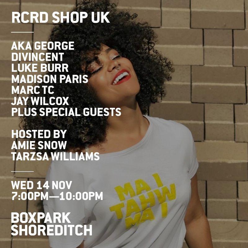 RCRD SHOP UK