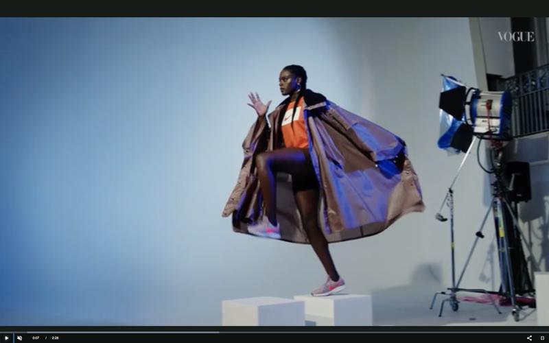 British Vogue x  Nike