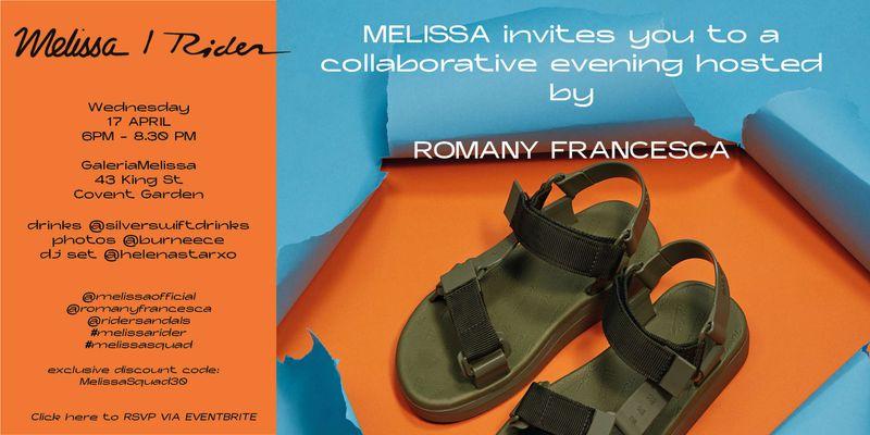 Melissa / RIDER x Romany Francesca