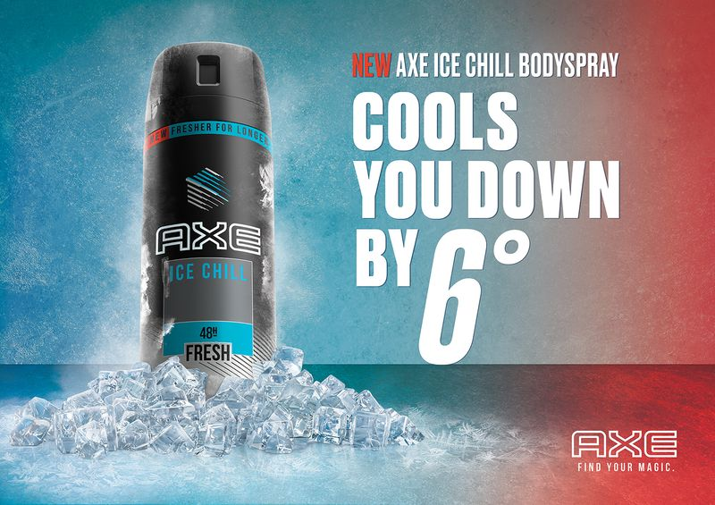 AXE - Ice Chill Campaign Visual