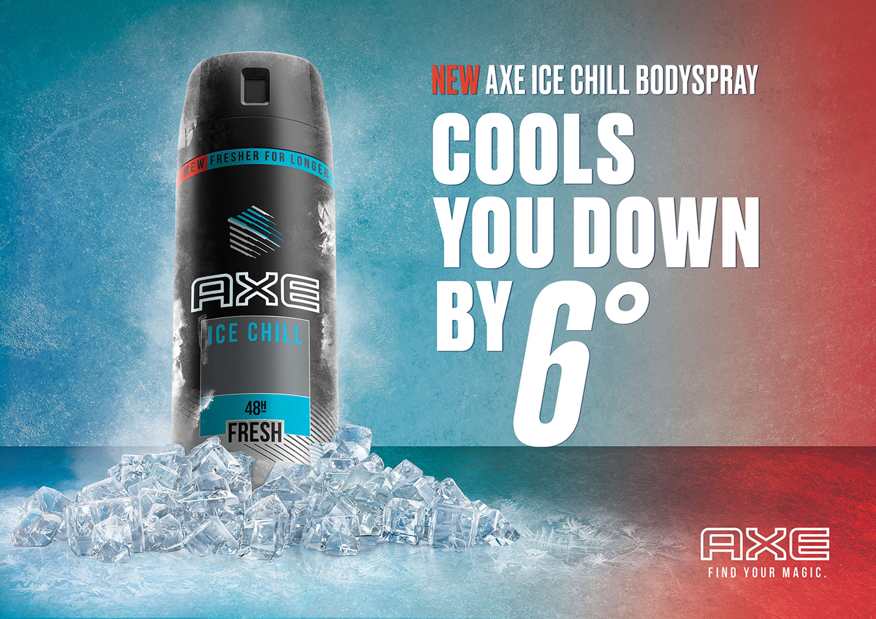 AXE - Ice Chill Campaign Visual | The Dots