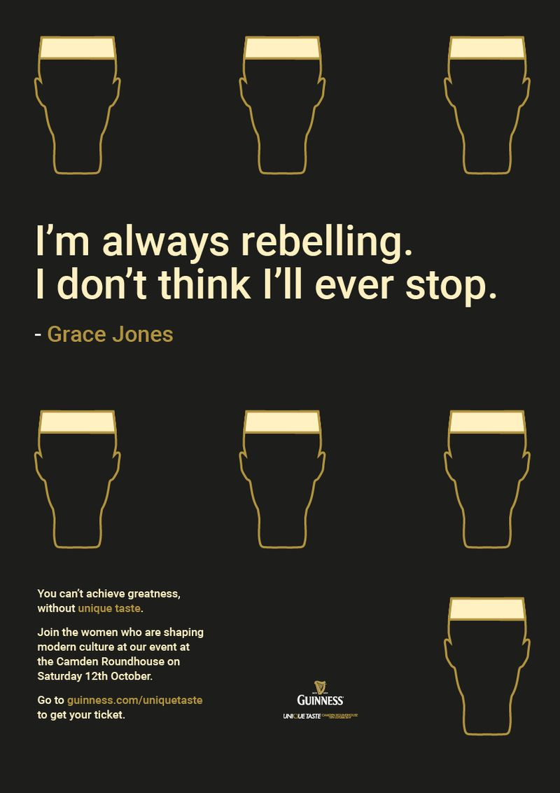 "Guinness - ""Unique Taste"" - Student Project"