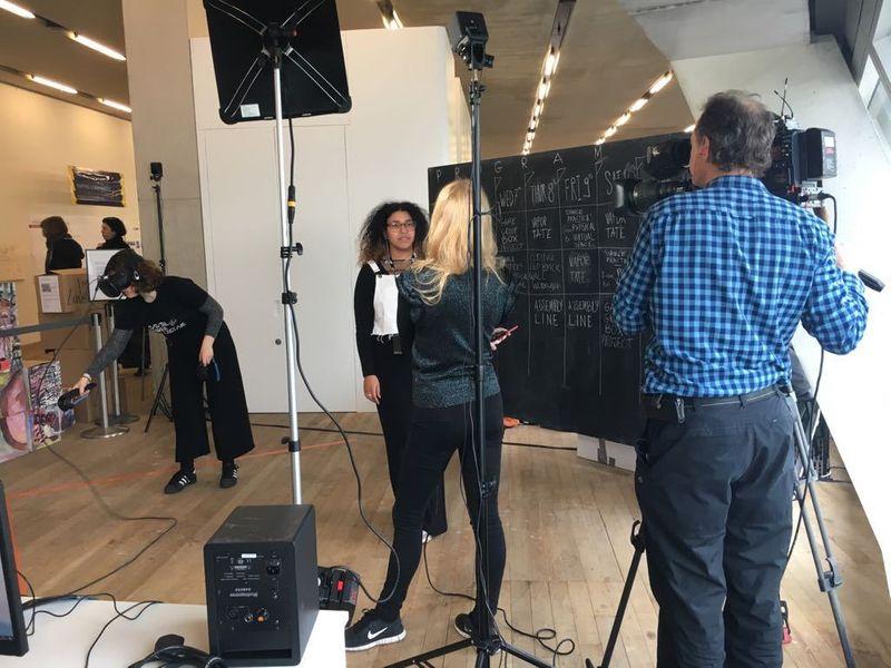 Tate Exchange: Digital Maker Collective 2018