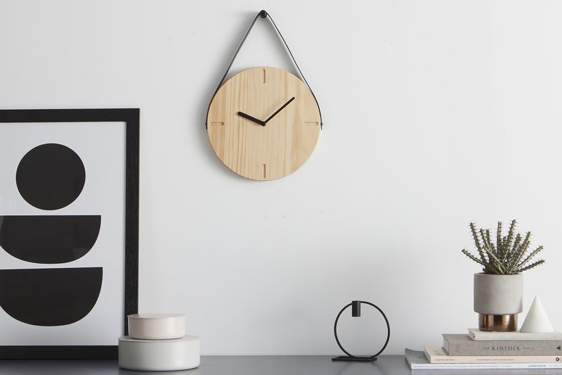 Mara wall clock. Made.com. David Weatherhead