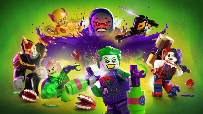 LEGO DC Super-Villains UI Design