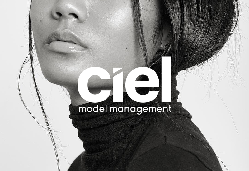 Ciel Model Management Branding