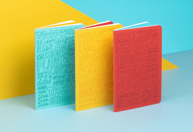 Kate Moross Limited Edition Journals