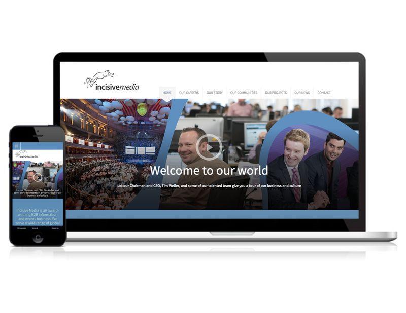 Incisive Media Corporate website