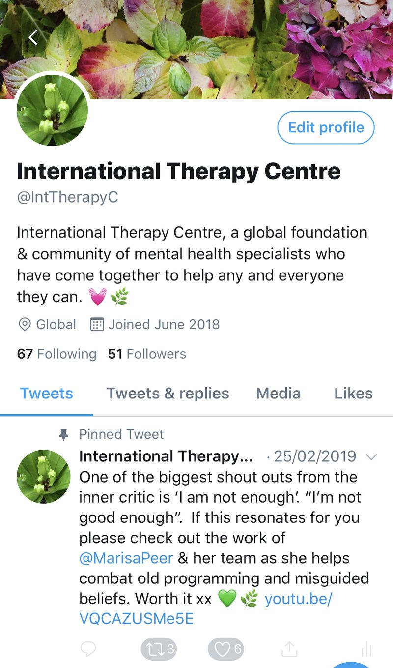 International Therapy Centre
