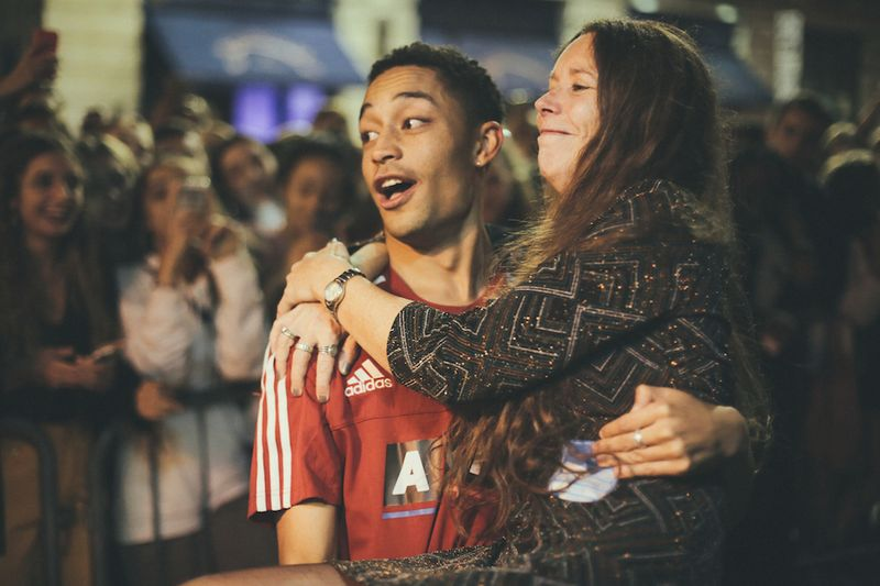 Behind the Scenes with Loyle Carner at Koko