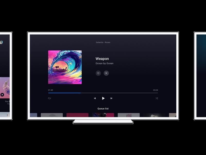 Deezer Android Tv app
