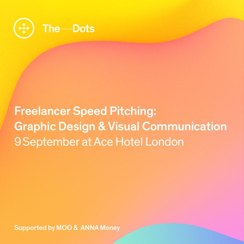 Apply here! Graphic Design & Visual Communication Freelancer Speed Pitching event at Ace Hotel.