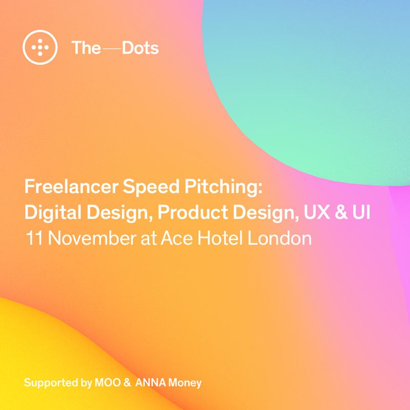 Apply here! Digital Design, Product Design, UX & UI Freelancer Speed Pitching event at Ace Hotel.