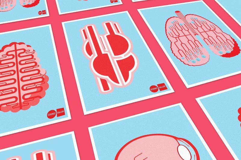 Science Gallery London: Blood Season Posters