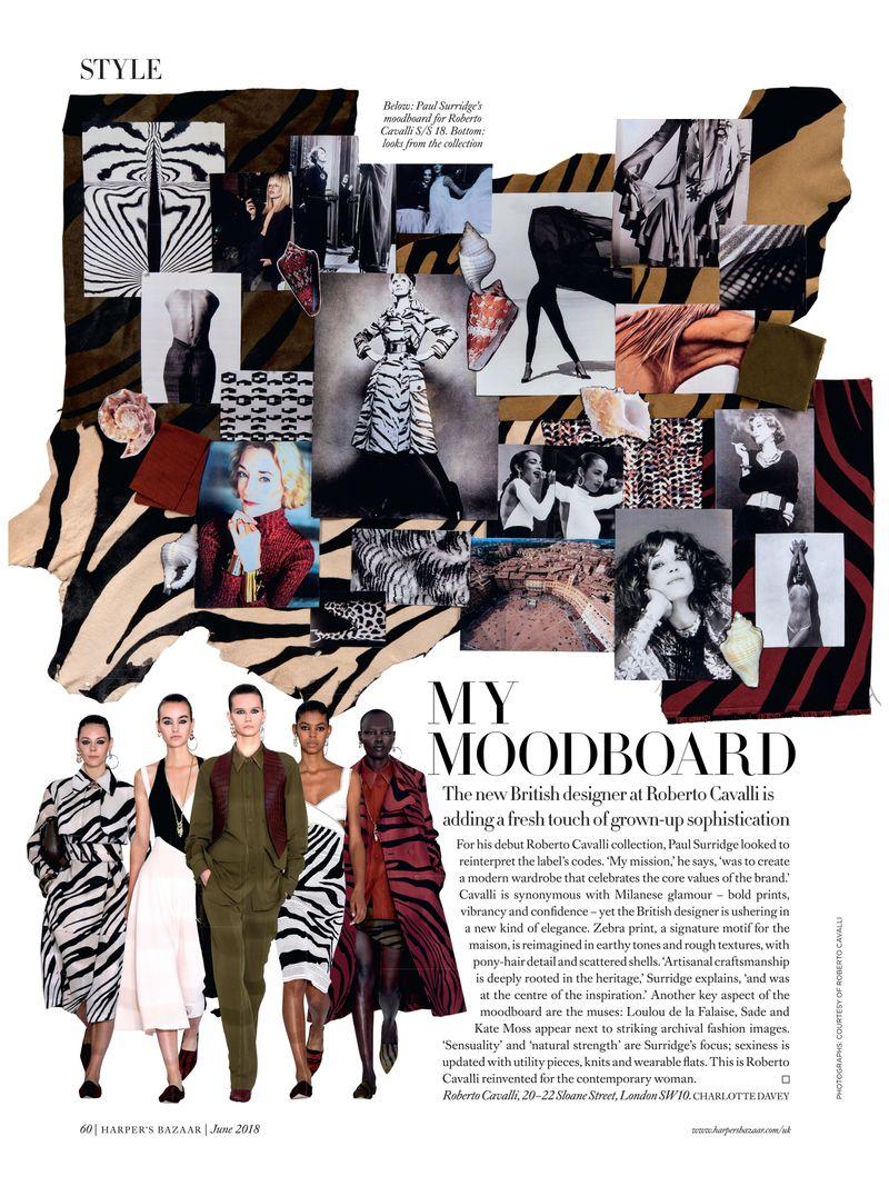 Style Moodboard ~ Harper's Bazaar UK May & June 18