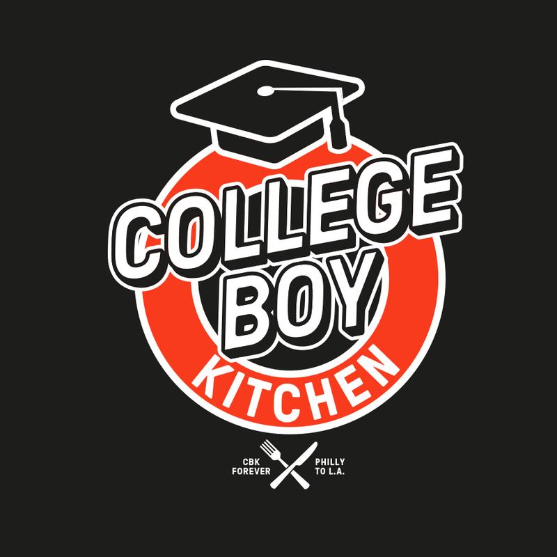 College Boy Kitchen -Restaurant logo and branding