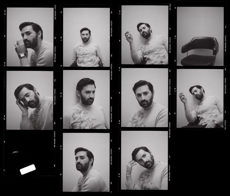 Nicolas Maury for Vogue Hommes Paris