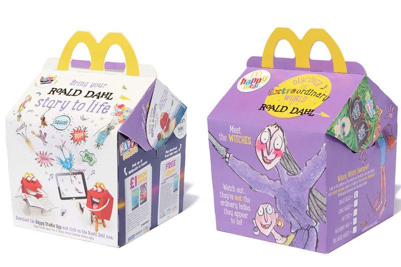 McDonald's Happy Readers – Discover the extraordinary world of Roald Dahl