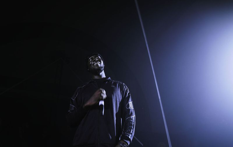 Stormzy x Adidas Originals 'Merky' launch