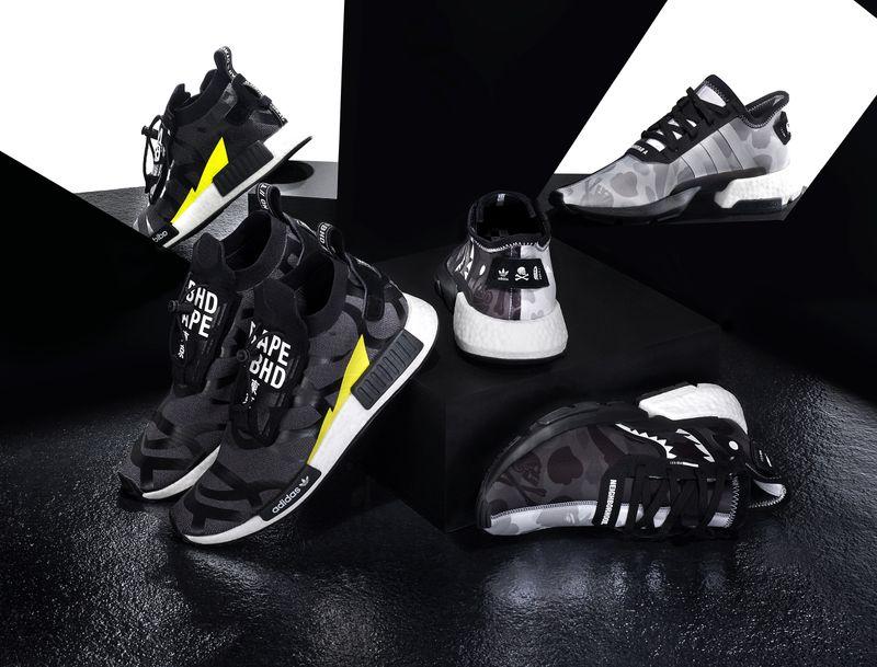Global Campaign for Adidas,  Neighborhood and Bape