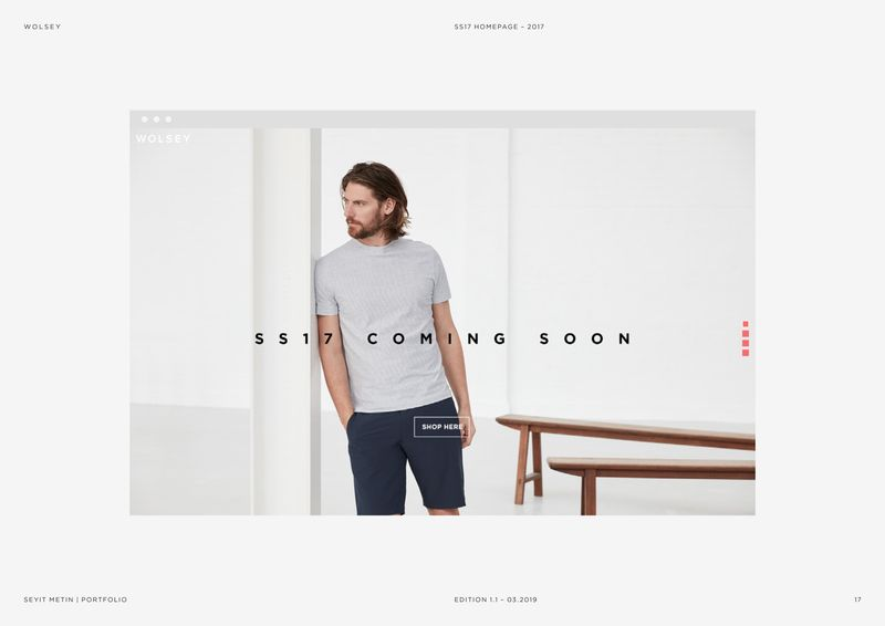 Wolsey - SS17 Digital Design